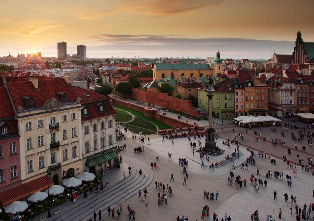 华沙,古城