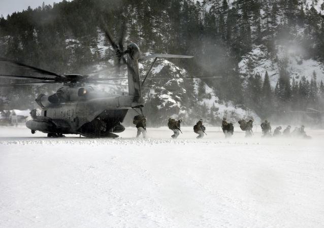 美国军在北极地区