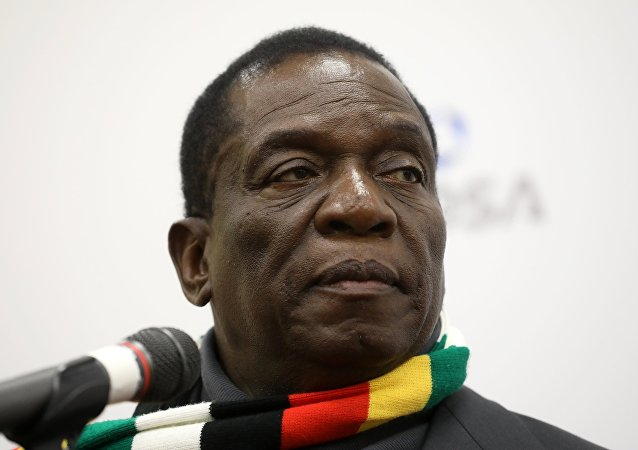津巴布韦总统在国内抗议浪潮下呼吁进行全国对话