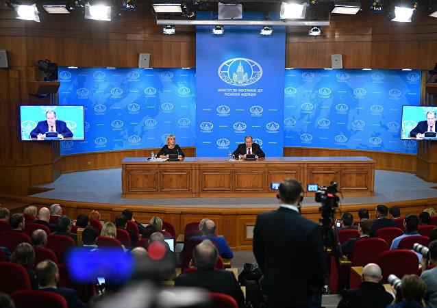 《中导条约》、制裁和俄中关系:拉夫罗夫做年度总结