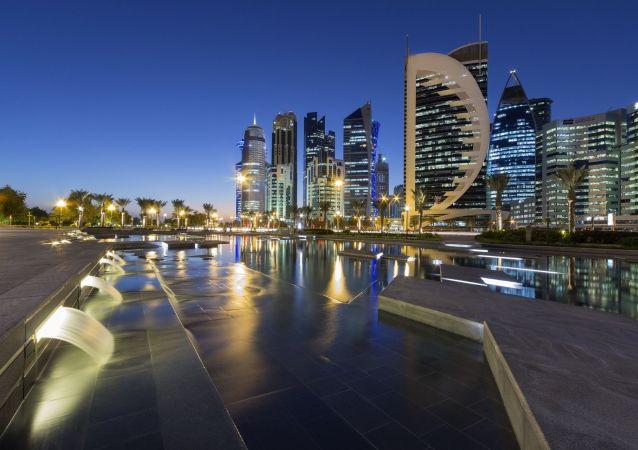 卡塔尔首都多哈市