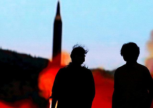 日本就朝鲜发射弹道导弹表示抗议