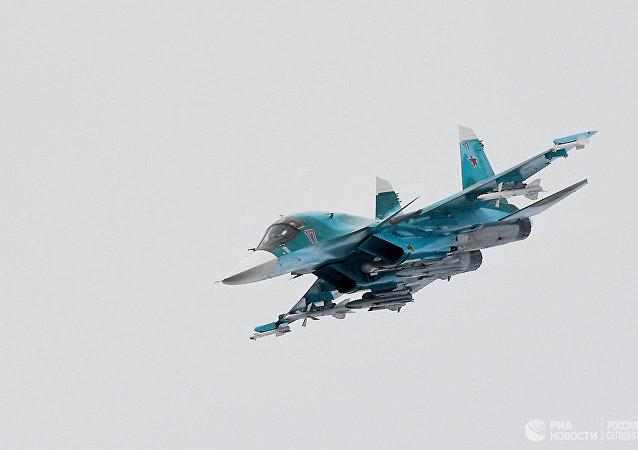 俄国防部称,两架苏-34轰炸机在远东失事,机组弹射逃生