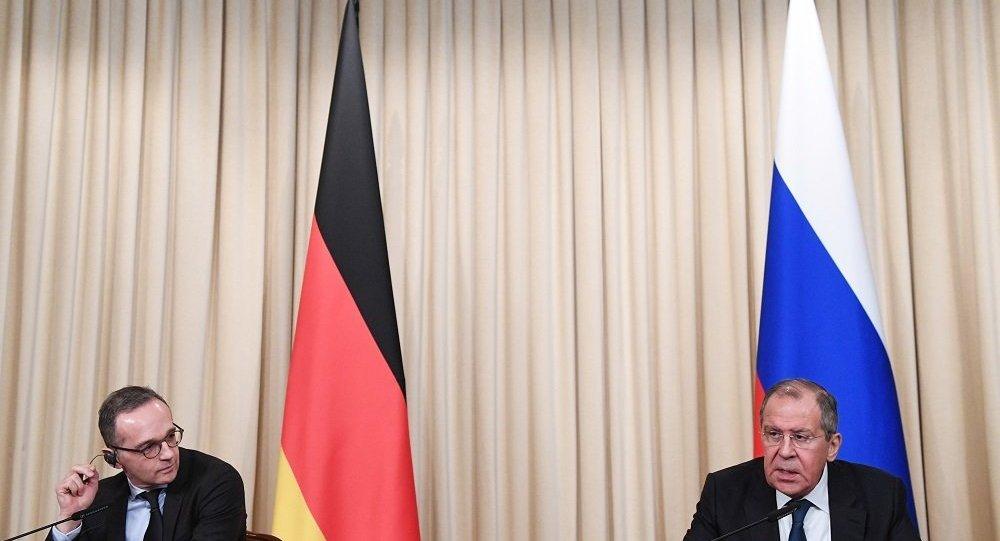 俄德两国外长讨论向叙利亚提供人道主义援助问题