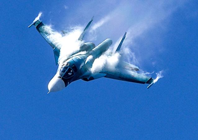 苏-34战机(图片资料)