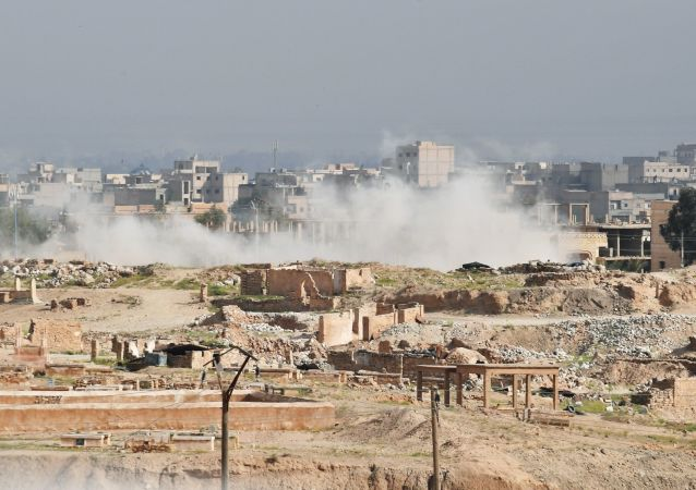 叙利亚媒体:国际联军空袭致死人数上升至31人
