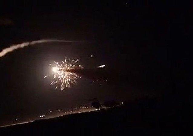 以色列空军对叙利亚实施3次空袭 致4名叙军人死亡