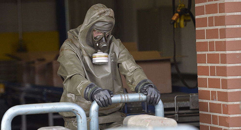 化学武器消灭