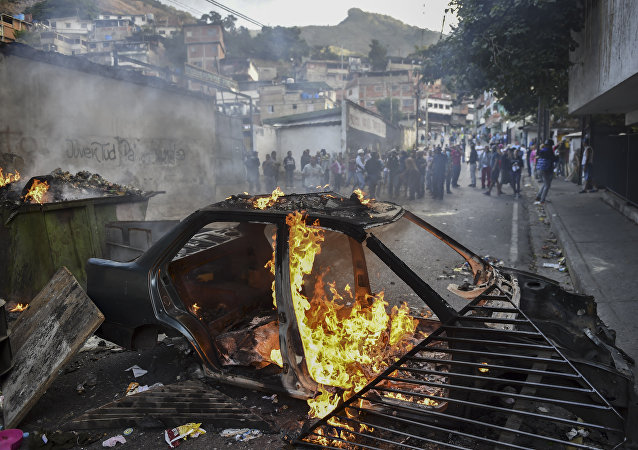 媒体:委内瑞拉首都的抗议活动扩大