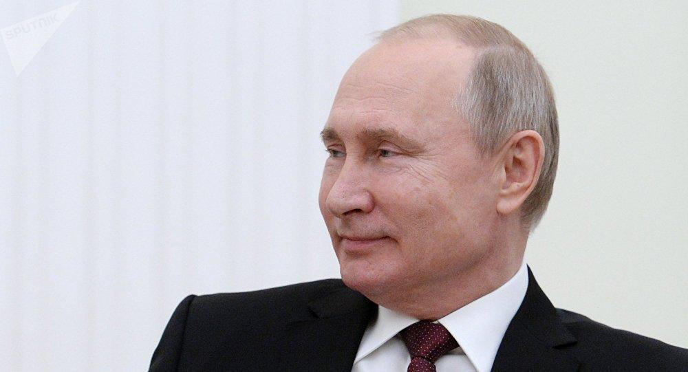 普京获评1月份俄罗斯最具影响力政治人物