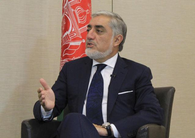 阿富汗总理阿卜杜拉·阿卜杜拉
