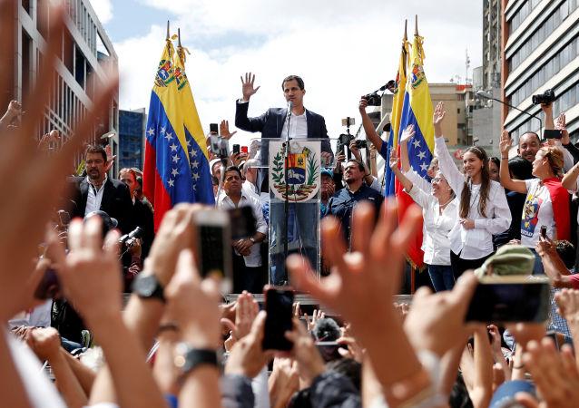 委内瑞拉反对派签署一份2.13亿美元旨在推翻马杜罗的合同