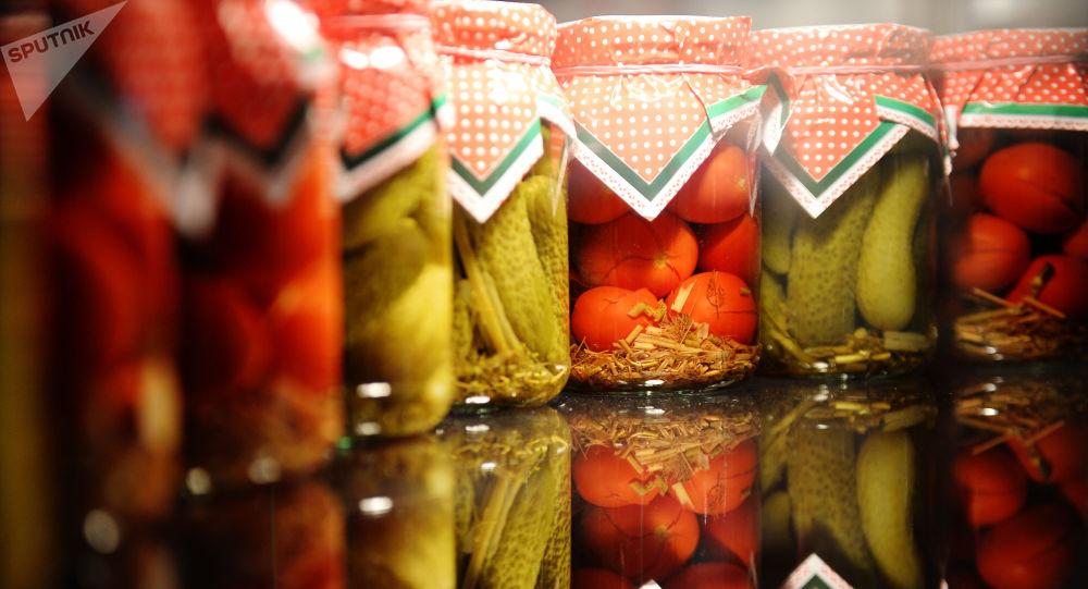 Консервированные овощи.