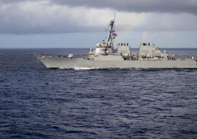 Ракетный эсминец США McCampbell