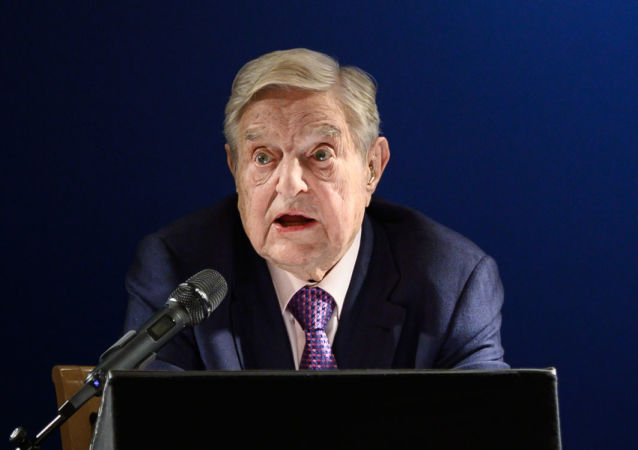 Американский миллиардер Джордж Сорос