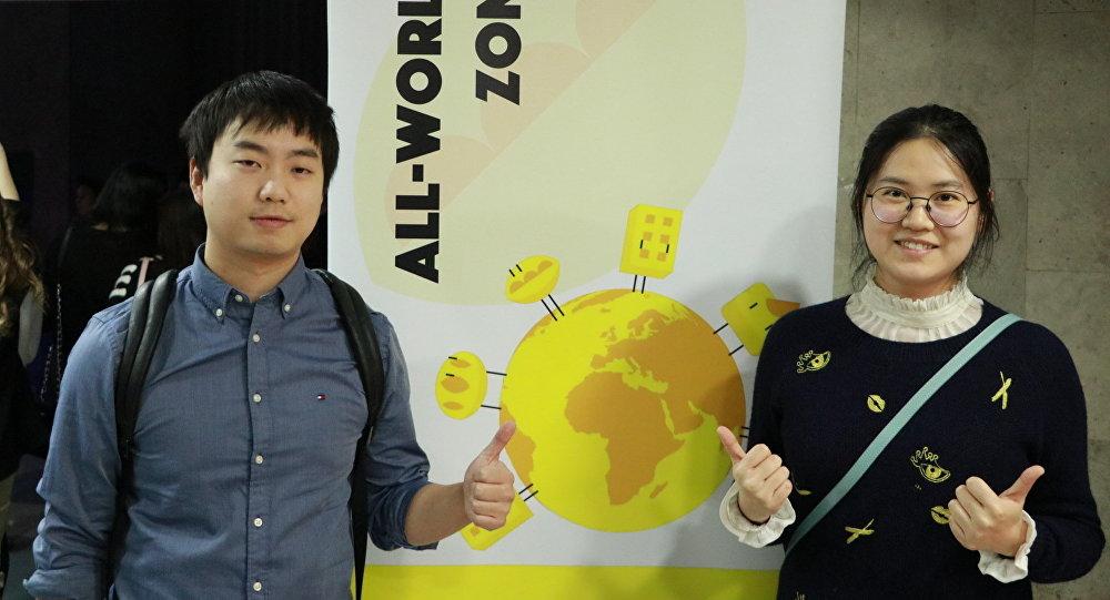 中国在俄留学生庆祝大学生节