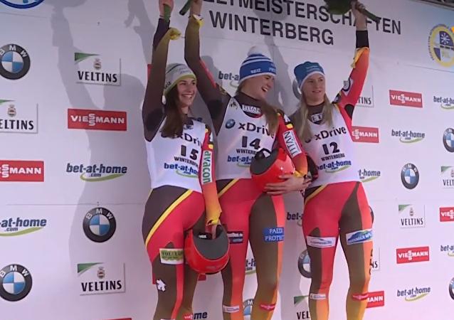 无舵雪橇世界杯在德温特贝格开幕