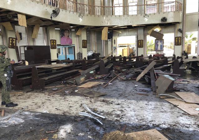 菲律宾霍洛市发生的爆炸袭击