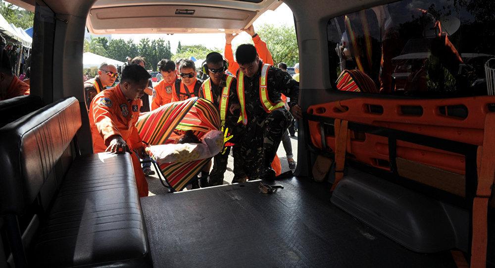 菲律宾救护车 (资料图片)