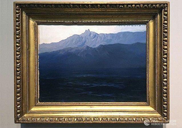 阿尔希普·库因芝画《克里米亚艾-彼得山》
