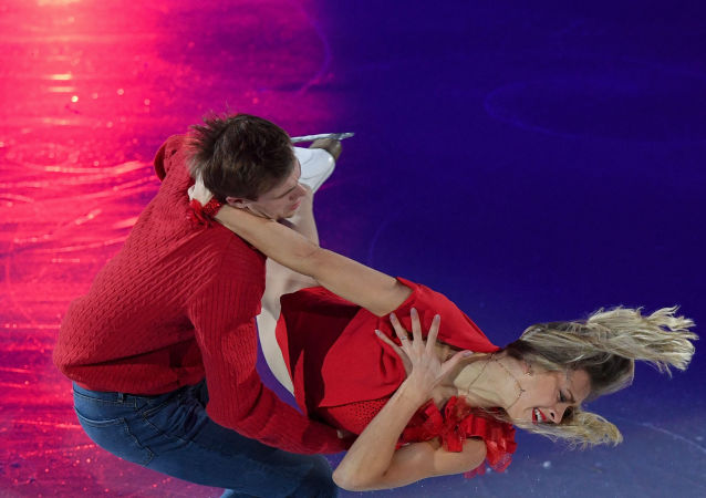 俄罗斯选手西尼齐娜和卡察尔波夫