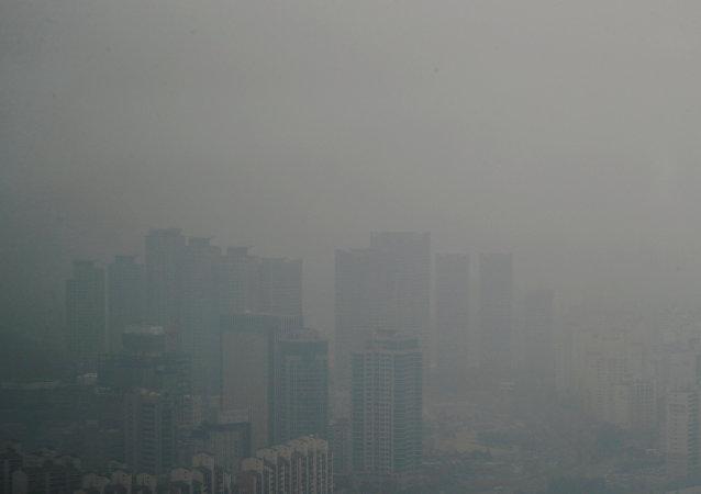 中国外交部回应韩国雾霾来自中国报道:需有充分证明依据