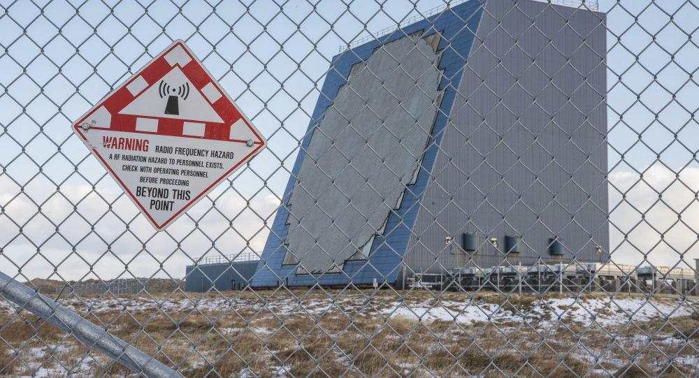 Американский противоракетный радар наземного базирования Cobra Dane на Аляске
