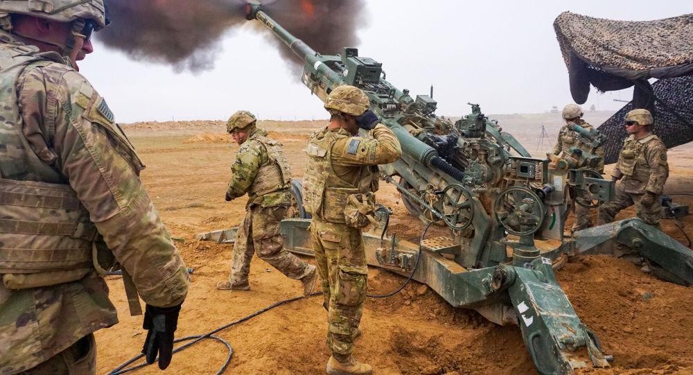Военнослужащие армии США во время операции Непоколебимая решимость на ближнем Востоке