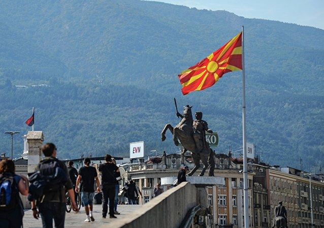 北马其顿议会通过加入北约的协议