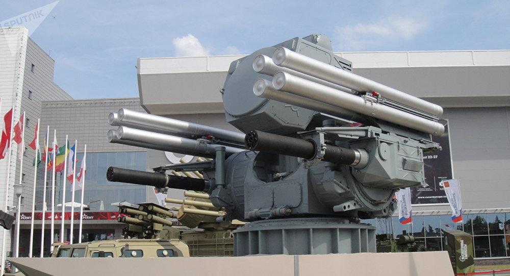 """俄罗斯""""铠甲-МЕ""""舰载防空导弹和高射炮综合系统:首次在国外亮相"""