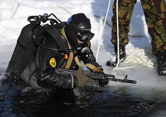 俄罗斯战斗潜水员