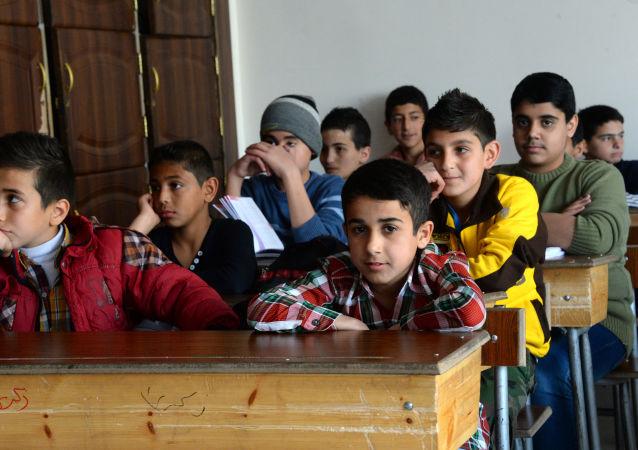 教育工作者:有2万多叙利亚中小学生在学习俄语
