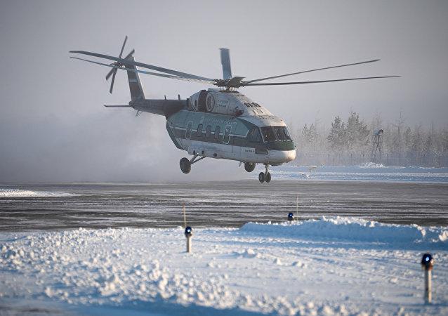 俄罗斯最新式米-38-2直升机将展开结冰测试