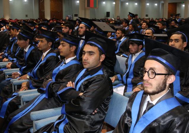 阿富汗大学生