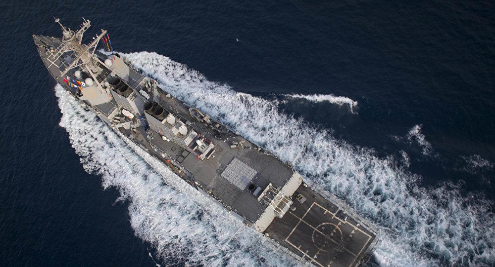 Эскадренный миноносец USS Preble