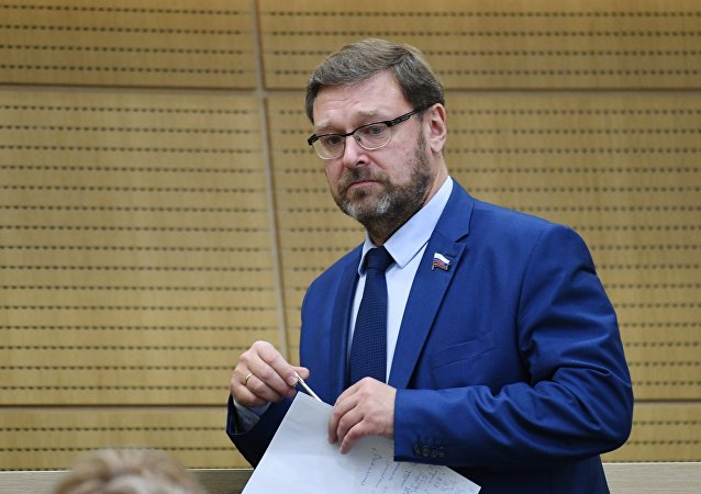 俄罗斯联邦委员会国际事务委员会主席科萨切夫