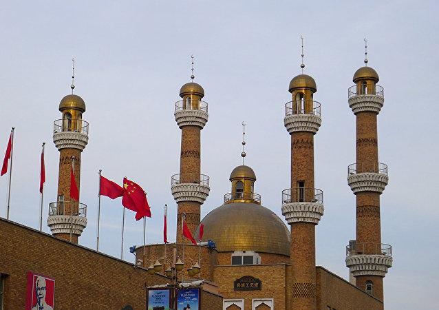 Башня Гранд Базар Урумчи в Синьцзяне