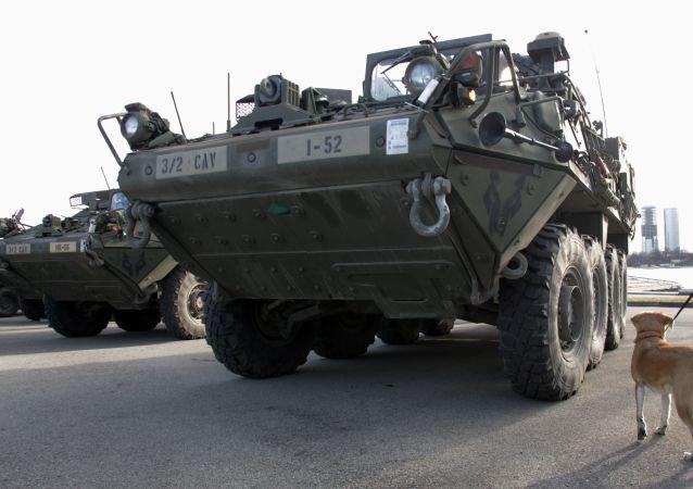 史崔克装甲车