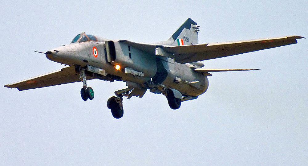 印度空军的米格-27战斗机