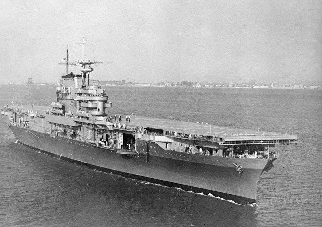"""""""大黄蜂""""号航母(USS Hornet)"""