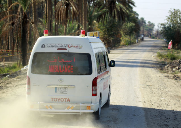 伊拉克急救车