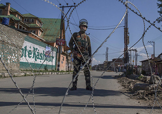 印度将寻求将谴责克什米尔恐怖袭击列入俄中印三国公报
