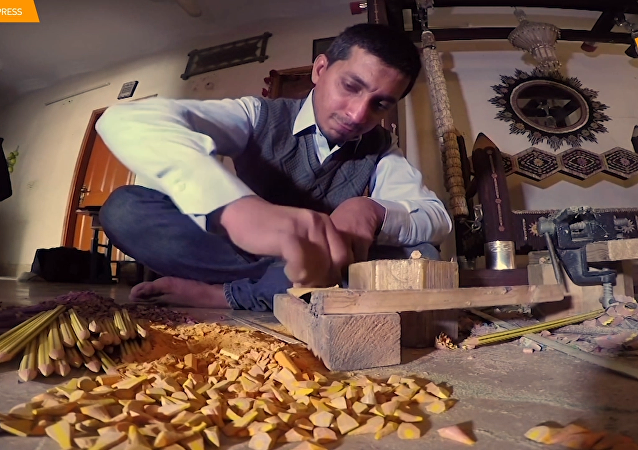 巴基斯坦艺术家用铅笔打造艺术
