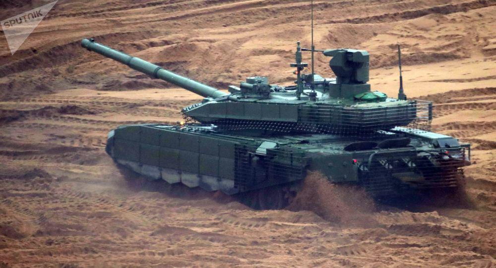 俄军事技术合作局:俄收到许多国外采购T-90MS坦克的请求