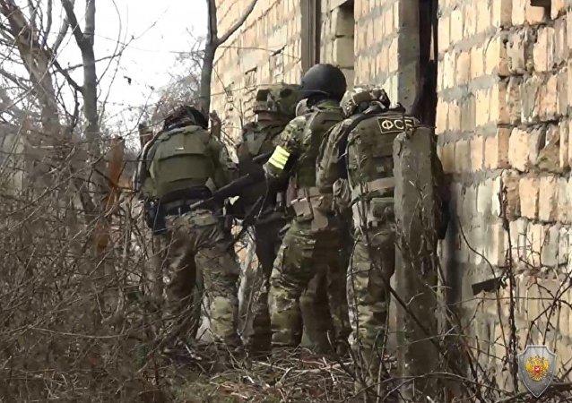 达吉斯坦消灭6名拟实施恐怖袭击的匪徒