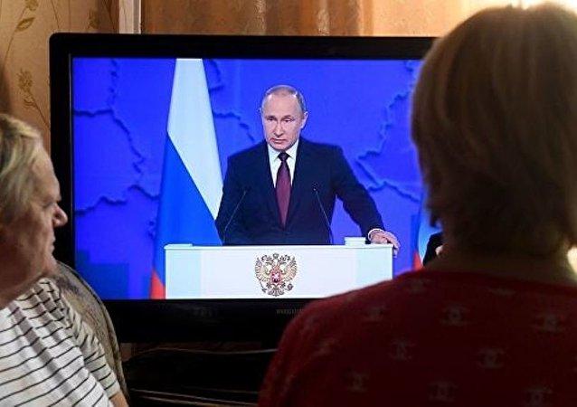 普京:俄罗斯在人口问题上进入艰难时期