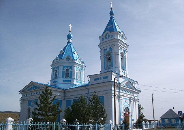 圣母安溪教堂(布里亚特共和国,恰克图)