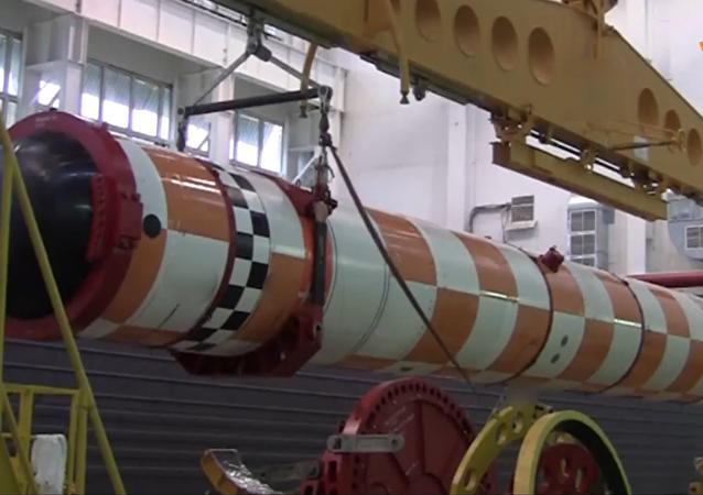 """""""波塞冬""""无人潜航器成功通过海上试验场试验"""