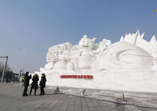 气候变暖致哈尔滨冰雪节面临威胁