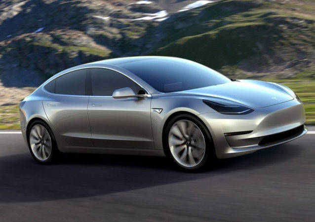 Model 3电动汽车